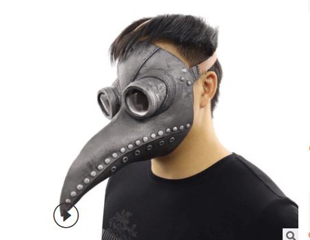 маска чумного доктора