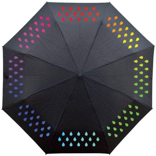 Зонт меняющий цвет при намокании